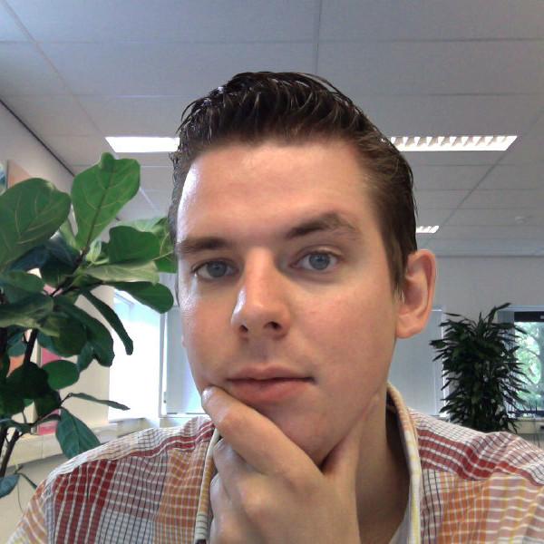 Jeroen, nieuwe werknemer marketing