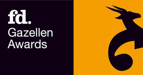 FD Gazellen Awards logo zwart oranje