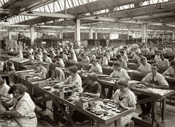 Succesvolle online marketing: fabriek