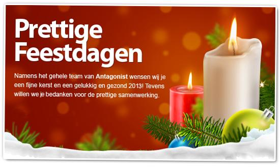 Antagonist Jaaroverzicht 2012: Prettige feestdagen