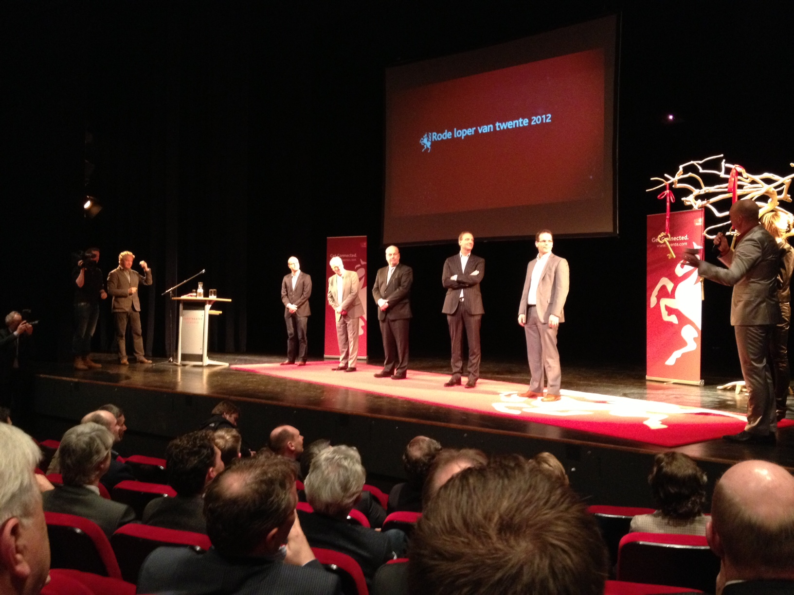 Antagonist ambassadeur van Twente: de Rode Loper 2012, uitreiking