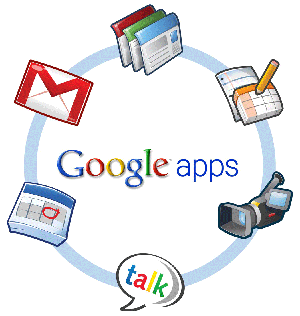 E-mail Google Apps instellen: Google Apps logo