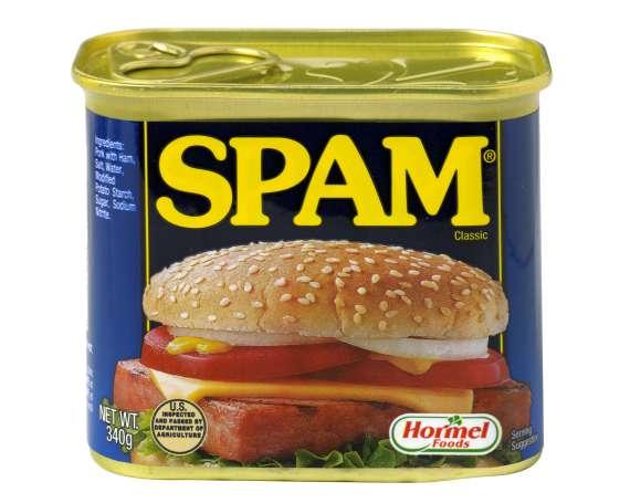 Spam filteren: SPAM