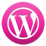 WordPress: Logo pink