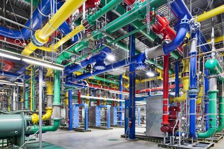 Coole datacenters: Buizen voor het koelwater