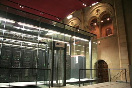 Coole datacenters: Glazen kamer MareNostrum