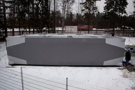 Coole datacenters: Bahnhof stalen container