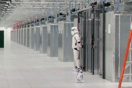 Coole datacenters: Stormtroopers als beveiliging