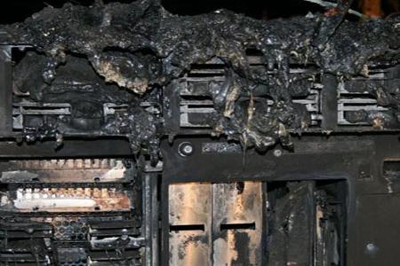 Verbrande server
