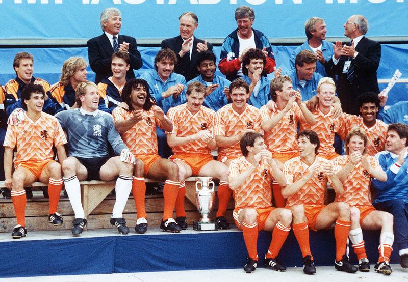 Het Nederlands elftal op het EK van 1988