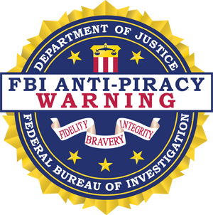 Klachtenafhandeling: FBI Anti Piracy Warning Seal
