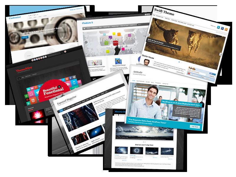 WordPress themes: kies voor WordPress bij Antagonist