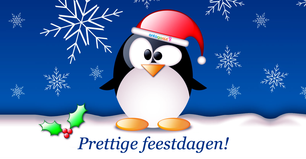 Antagonist jaaroverzicht 2013: prettige feestdagen!