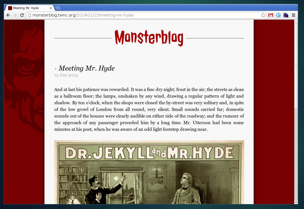 Een snelle website maken met Jekyll: een Monsterblog maken!