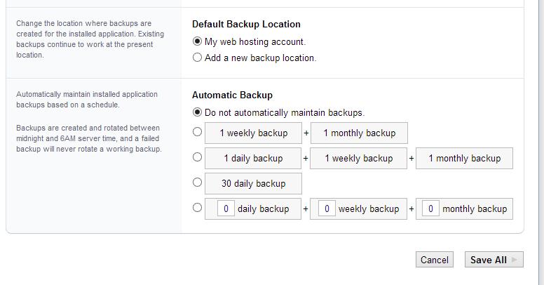 Backup maken: in een handomdraai geregeld via Installatron
