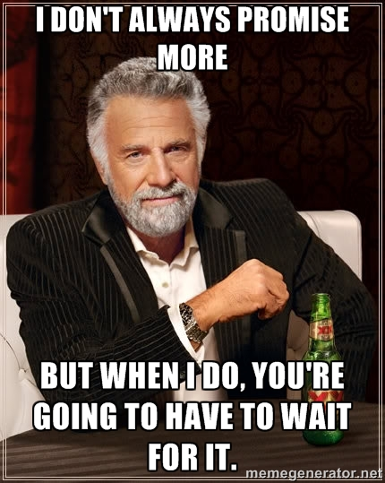 Meme: I don't always