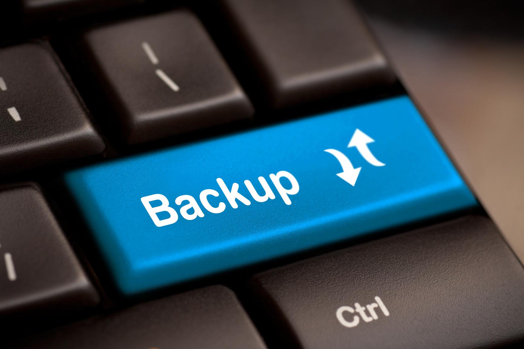 Back-up maken: Hoe maak ik een back-up van mijn gehele pakket?