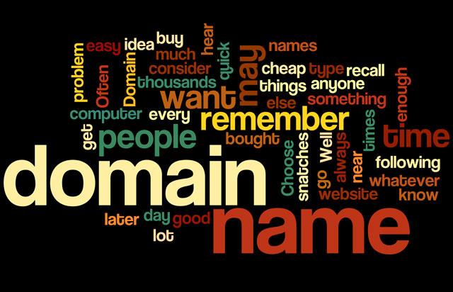 Goede domeinnamen: domain names