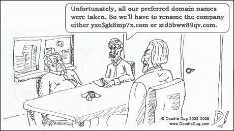 Goede domeinnamen: gebruik niet te langen domeinnamen