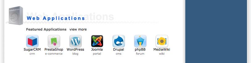 Joomla: installeren met behulp van Installatron