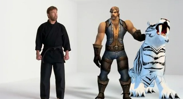 Meme marketing: Chuck Norris in World of Warcraft