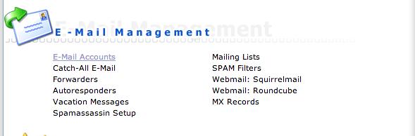 E-mail: instellen 001