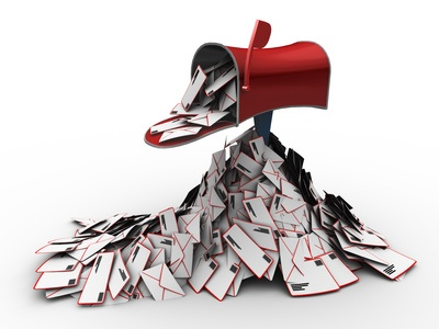 E-mail: een volle mailbox