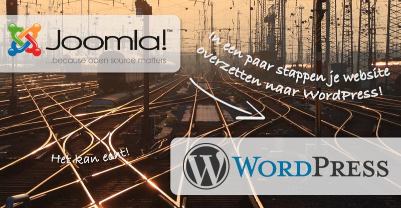 Van Joomla naar WordPress: eenvoudig overzetten!