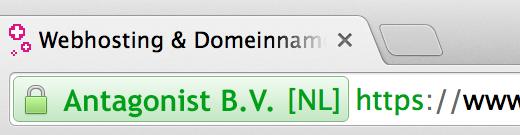 SSL-certificaat: Uitgebreide SSL