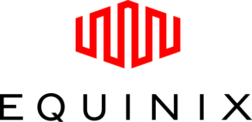 Groene hosting: logo Equinix