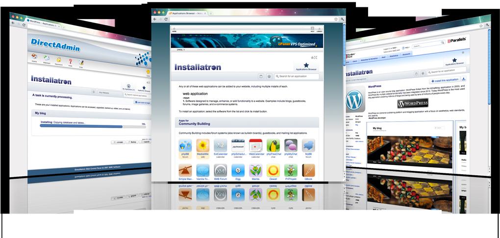 Installatron: maak eenvoudig een website