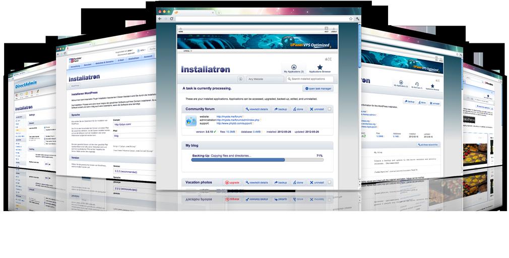 Installatron: binnen 10 minuten een website geïnstalleerd