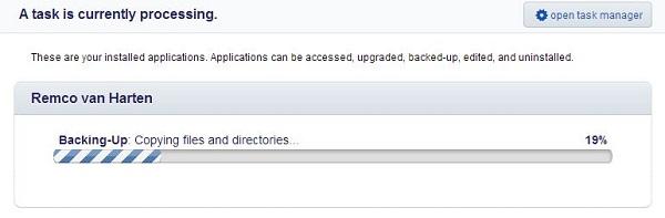 Installatron: automatische backups instellen voor je website