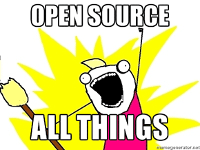Open Source: open source all the things!