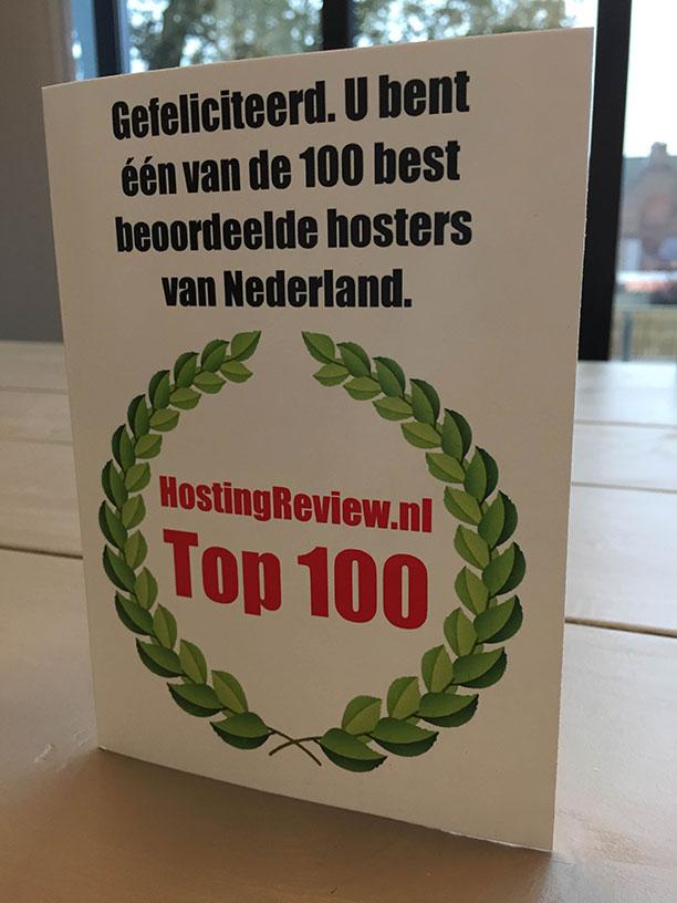 Antagonist verkozen tot beste hosting provider: één van de 100 best beoordeelde hosting providers van Nederland