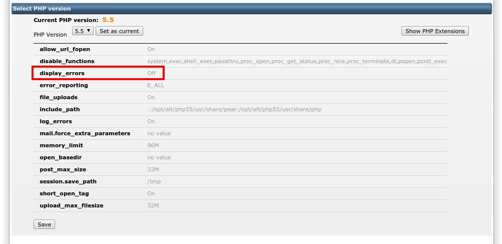 WordPress foutmeldingen: PHP-selector 2