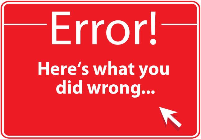 Website onbereikbaar: error!