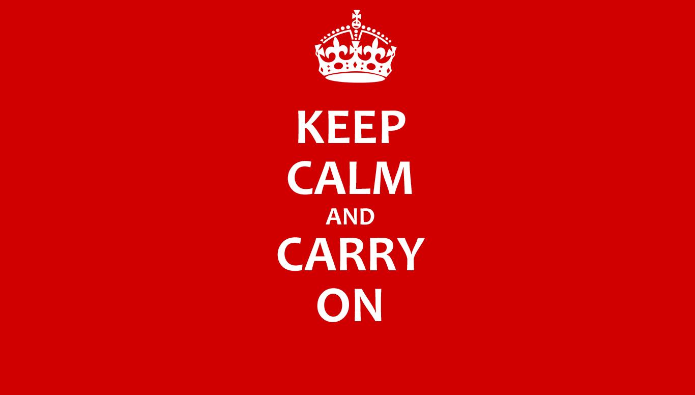 Website onbereikbaar: keep calm and carry on
