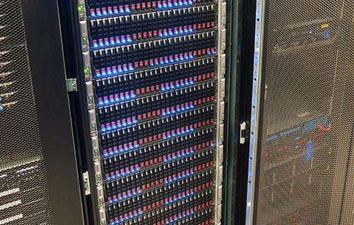 Het gloednieuw platform van Antagonist: het server rack