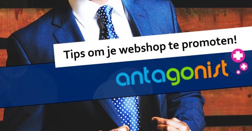 webshop promoot tips