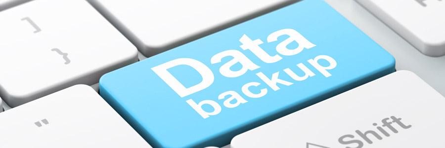 Periodieke backups terugzetten: overview.
