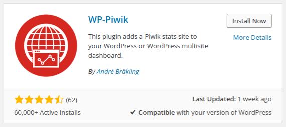 Piwik: Hoe installeer je de WP-Piwik-plugin in WordPress?