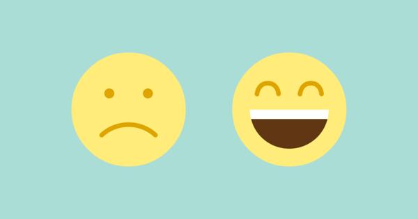 Een dag in het leven van een supporter: Smiley-feedback