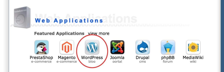 Wordpress, het complete stappenplan: installeren via Installatron
