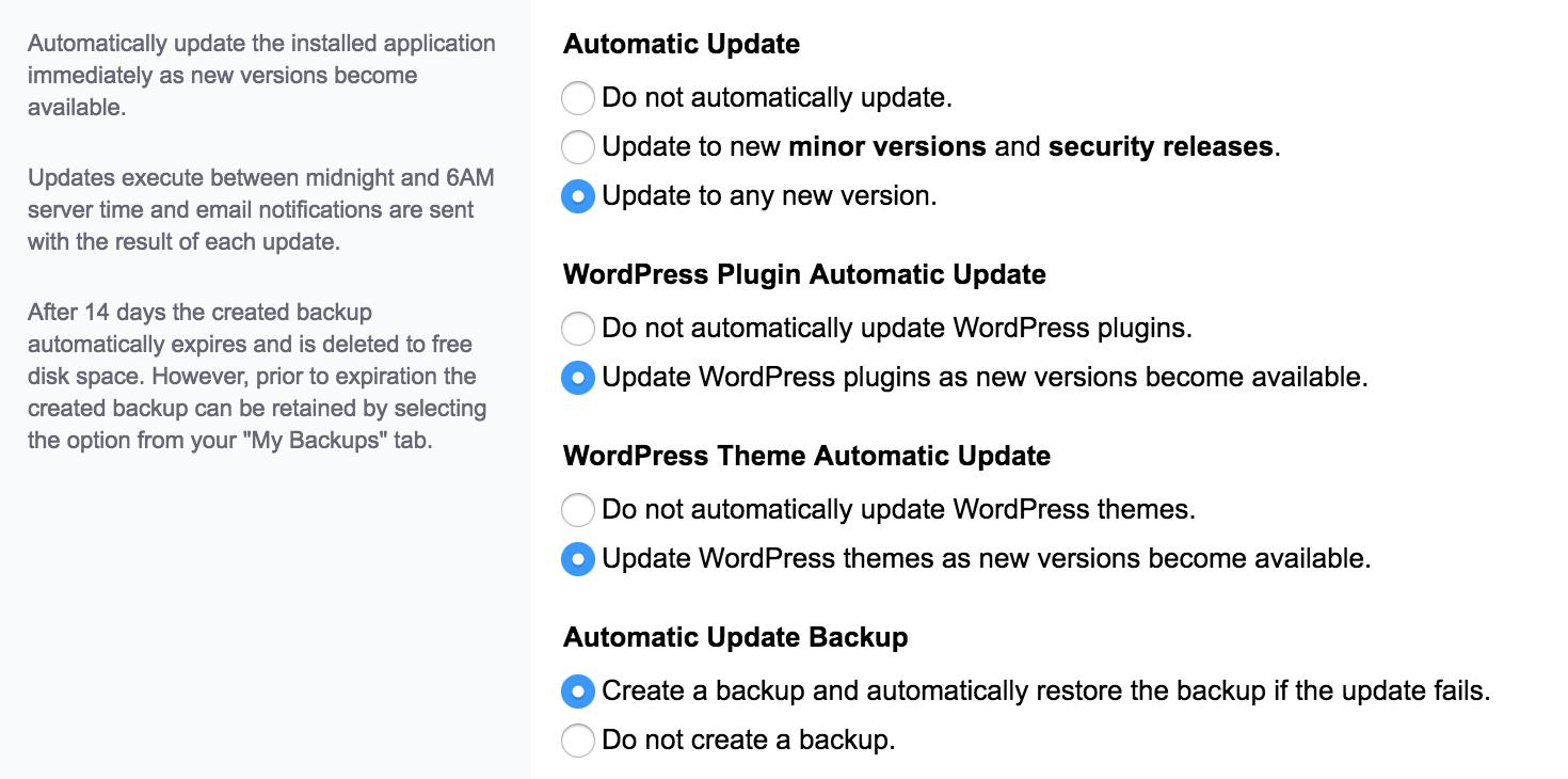 WordPress, het complete stappenplan: automatische updates inschakelen