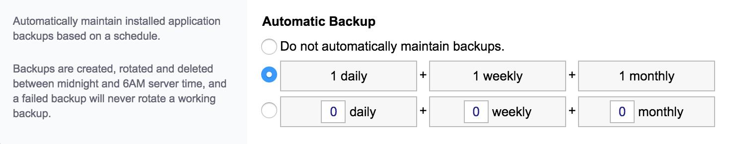 WordPress, het complete stappenplan: automatische backups inschakelen