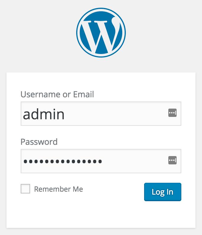 WordPress, het complete stappenplan: inloggen op de backend van WordPress