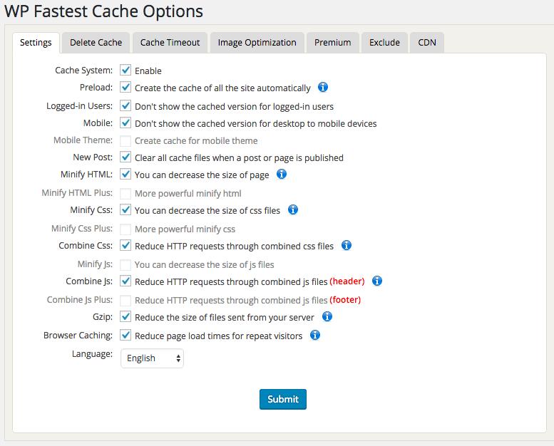 Caching voor WordPress en Joomla in een handomdraai: WP Fastest Cache