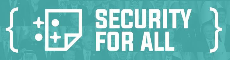 Hoe wij ons platform voor jou veilig houden: security for all!