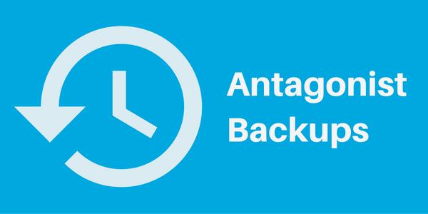 Projectplanning in de praktijk: het uitbreiden van de Antagonist Backups!